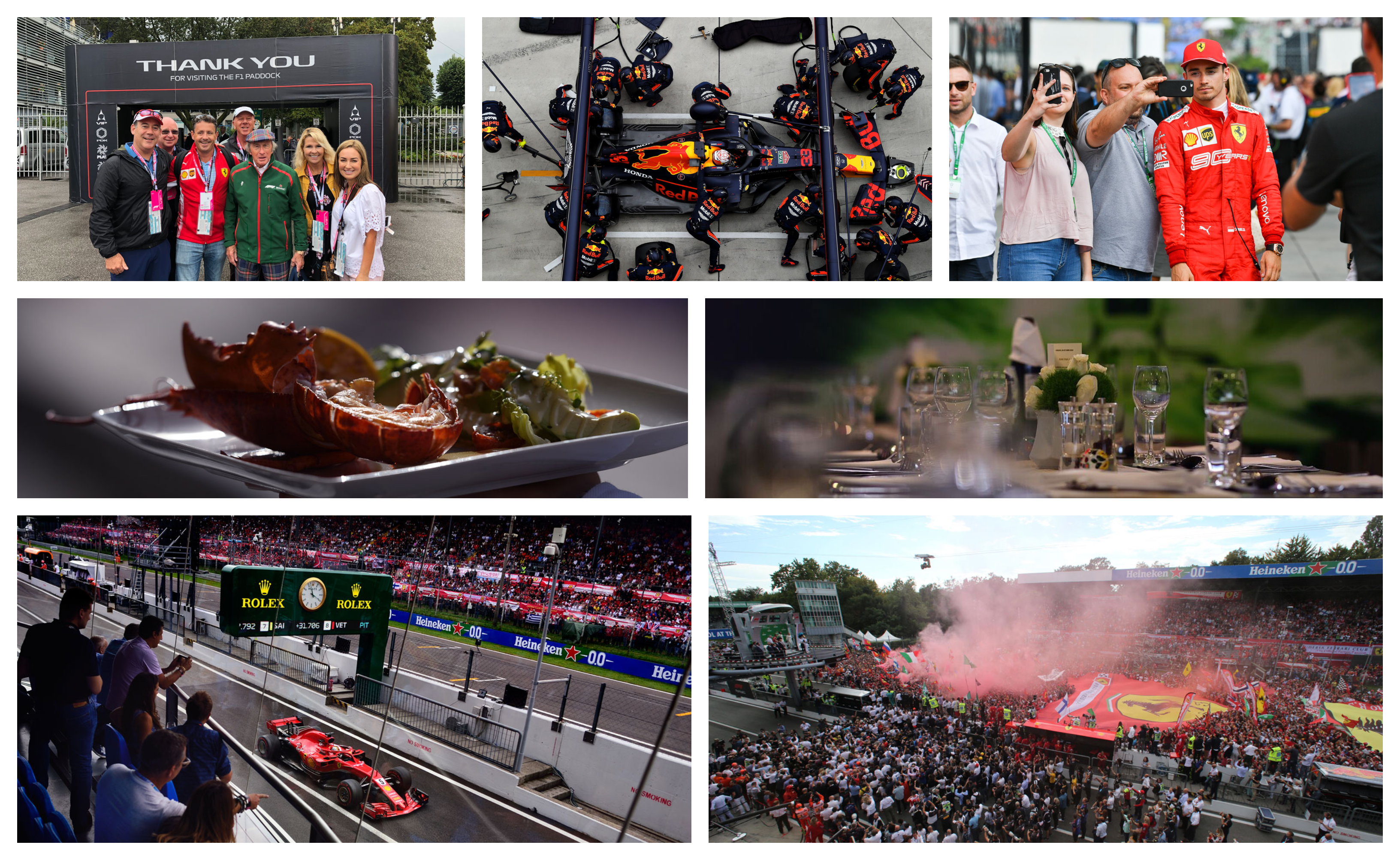 Grand Prix Italië2021 – Legend ticketpakket F1® Experiences
