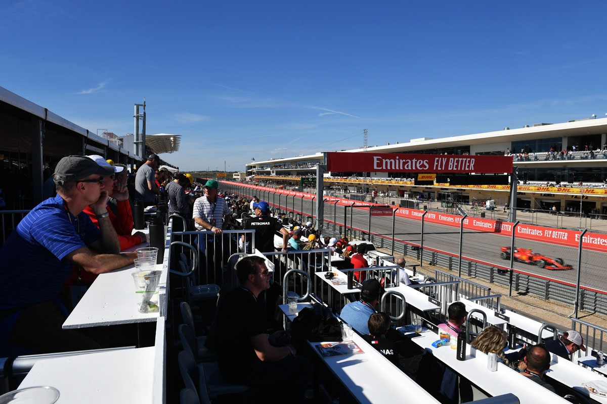 F1 Amerika 2021 – F1® Experiences Champions Club