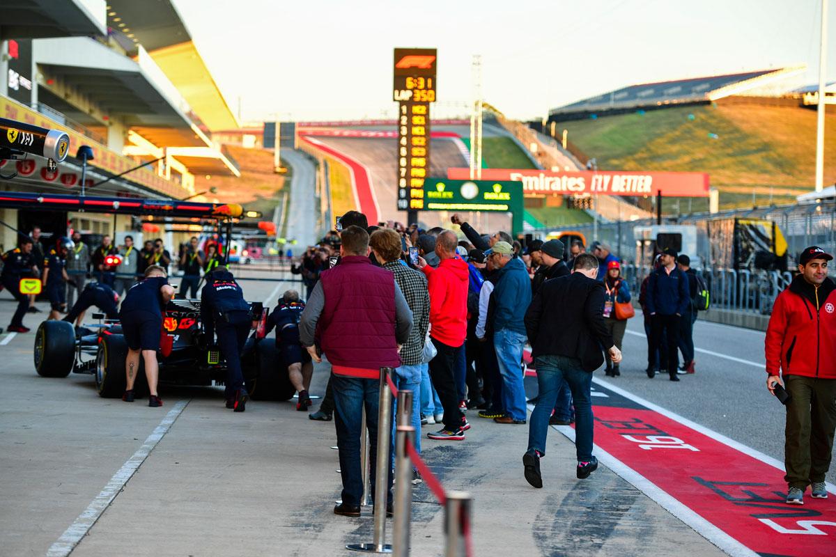 F1 Amerika 2021 – Starter ticketpakket F1® Experiences