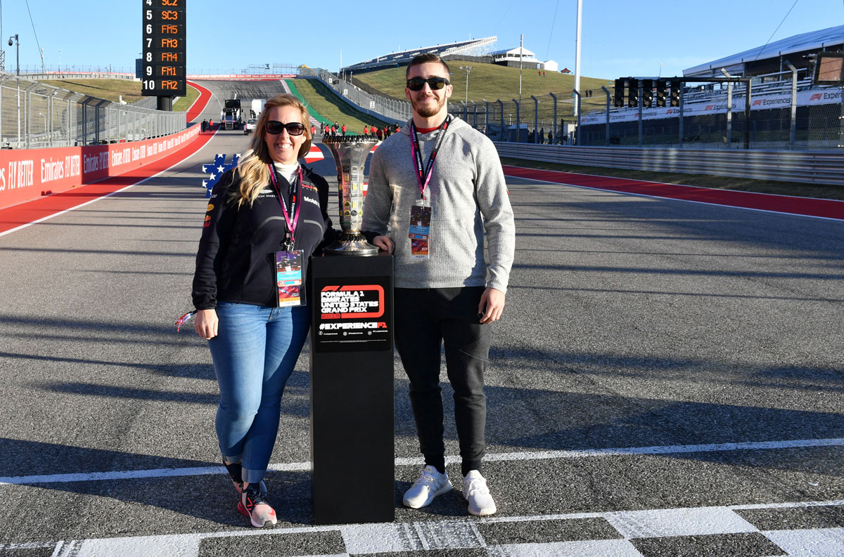 Grand Prix van Amerika 2021 – Trophy ticketpakket F1® Experiences