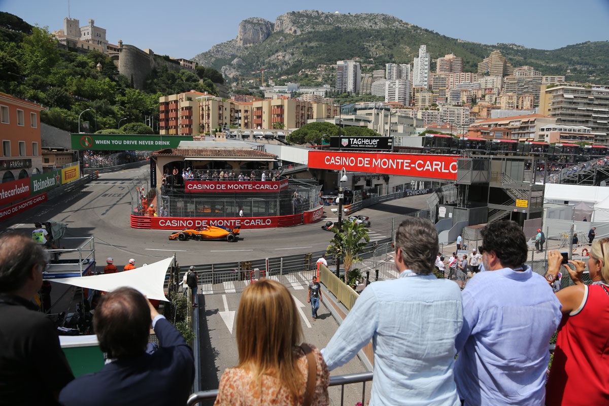 GP Monaco 2021 – Champions Club Multi-Venue – F1® Experiences