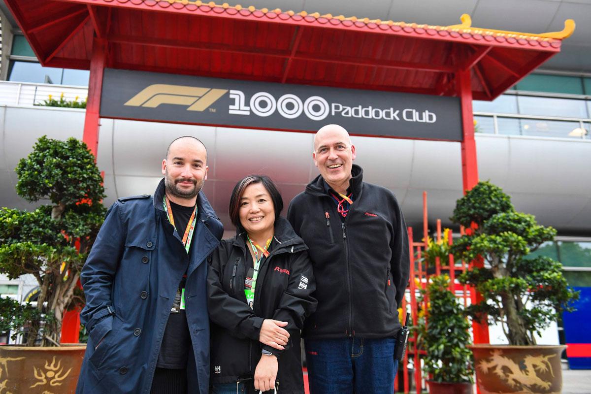 F1 China 2021 – Paddock Club ™ tickets –  F1® Experiences