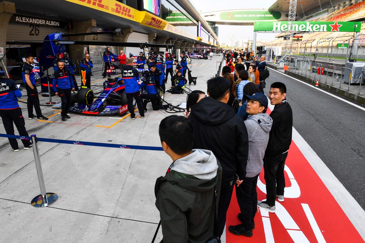 GP van China 2021 – Premier ticketpakket F1® Experiences