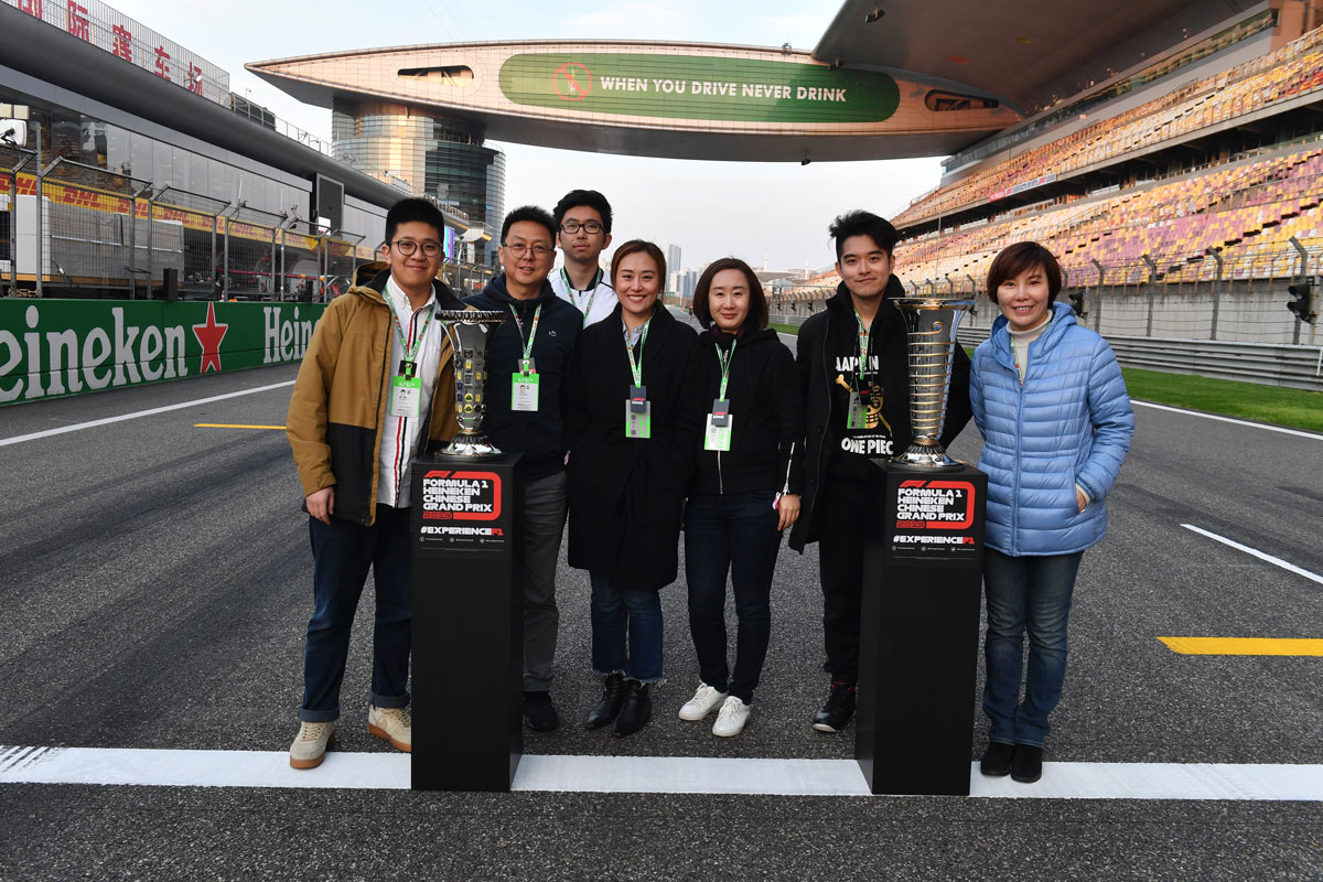 Formule 1 China 2021 – Trophy ticketpakket F1® Experiences