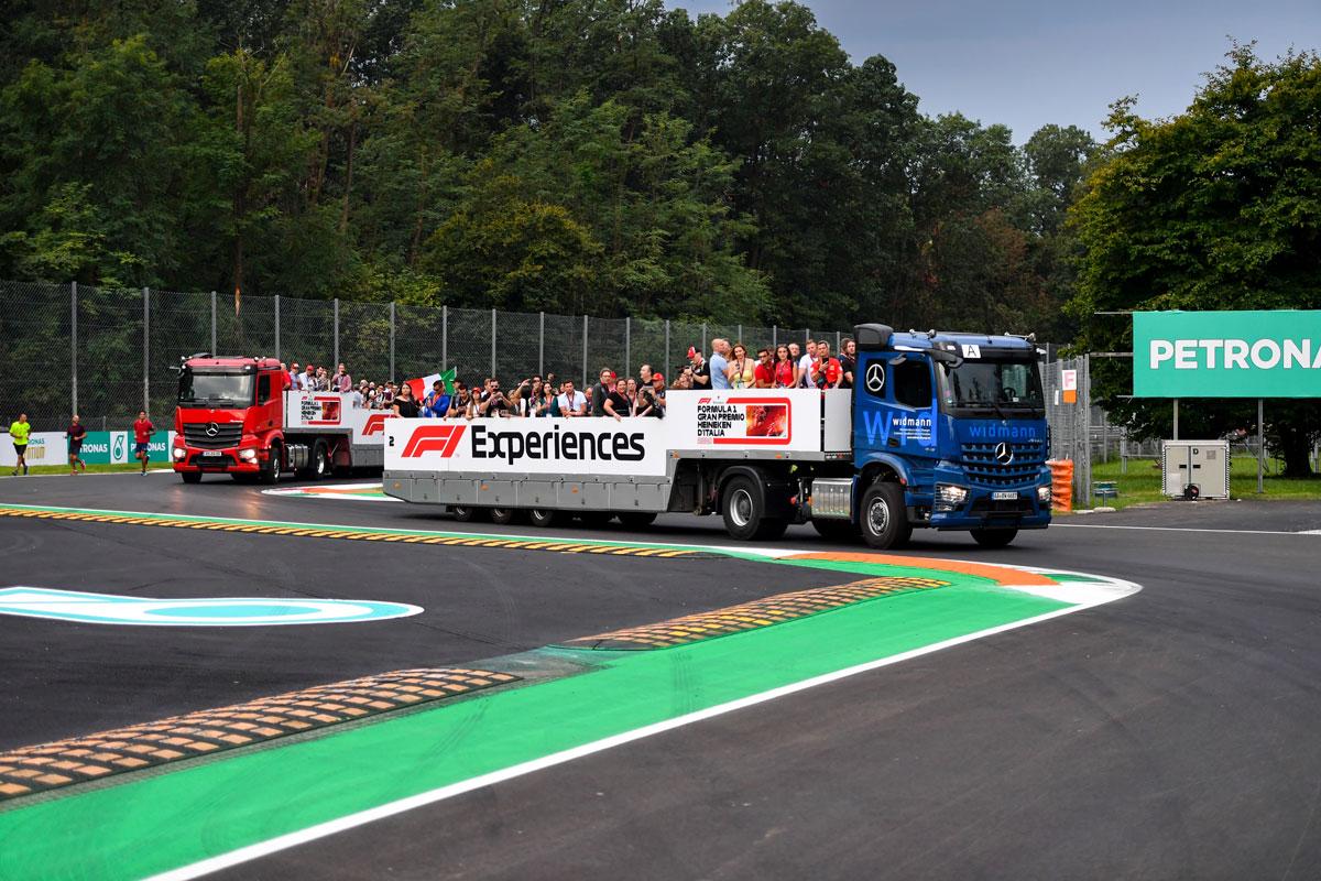 GP Italie – F1 Monza 2021 – Starter ticketpakket F1® Experiences