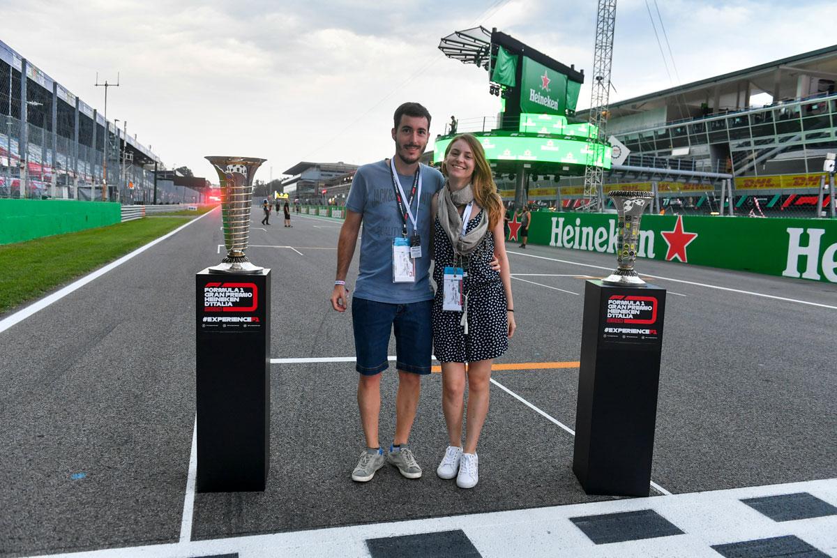 Grand Prix van Italie – F1 Monza 2021 – Trophy ticketpakket F1® Experiences