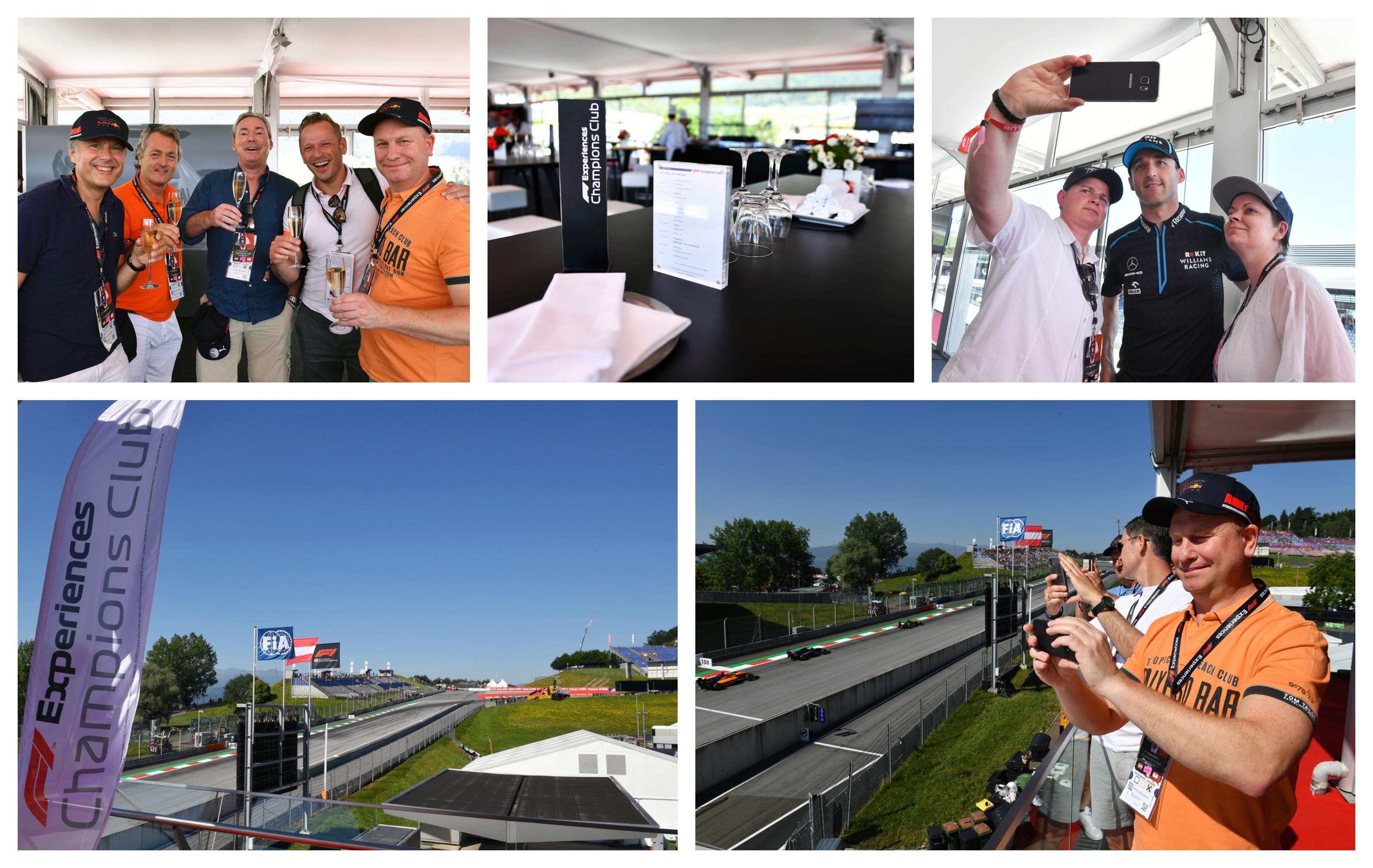 F1 Oostenrijk 2021 –  F1® Experiences Champions Club