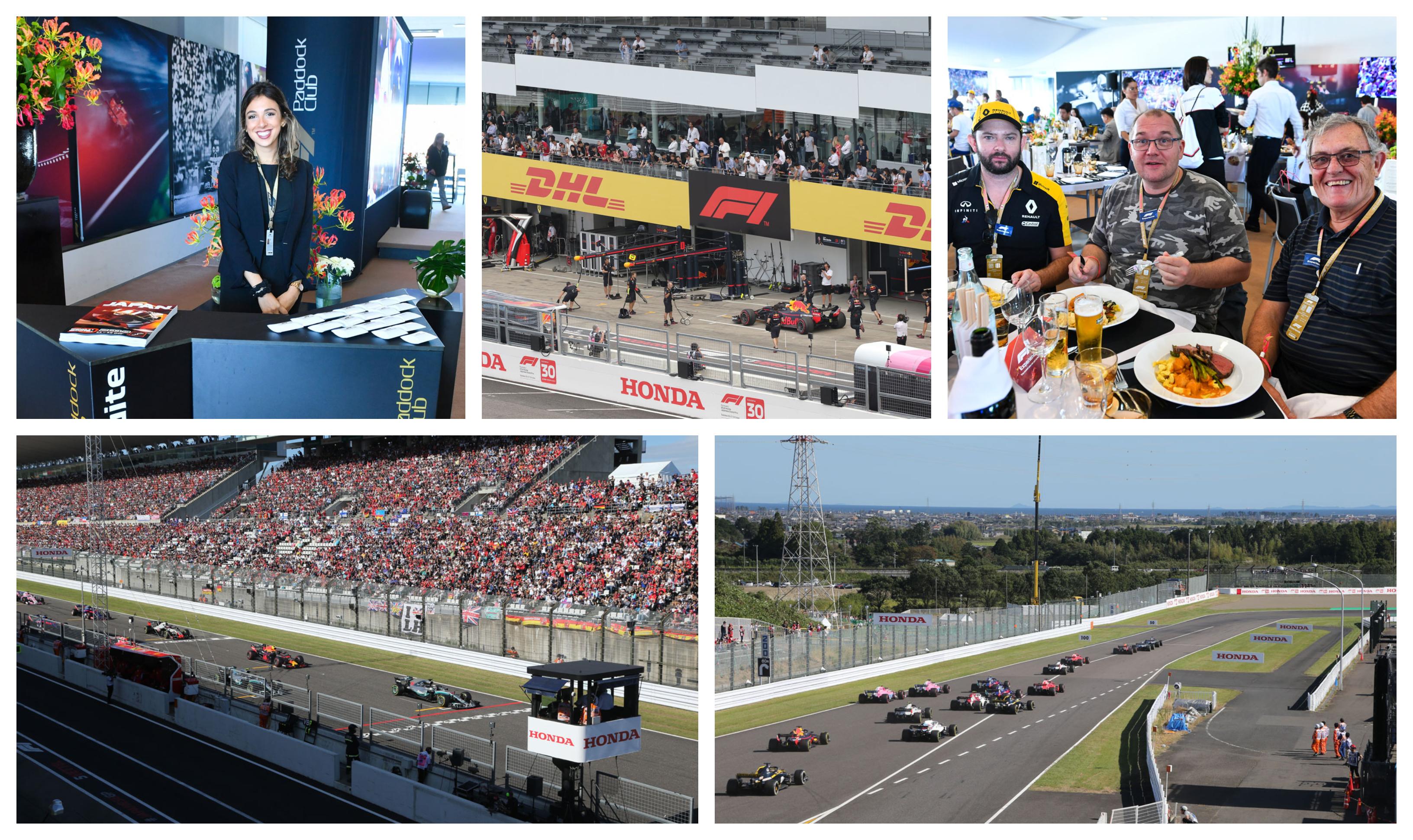 F1 Japan 2021 – Paddock Club ™ –  F1® Experiences