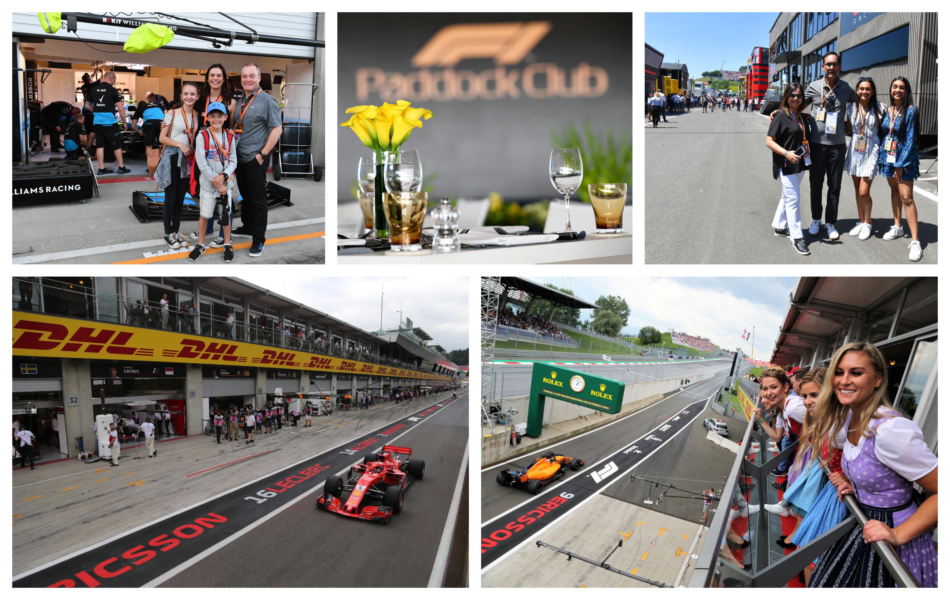 GP Oostenrijk 2021 – Legend ticketpakket (Paddock Club) F1® Experiences