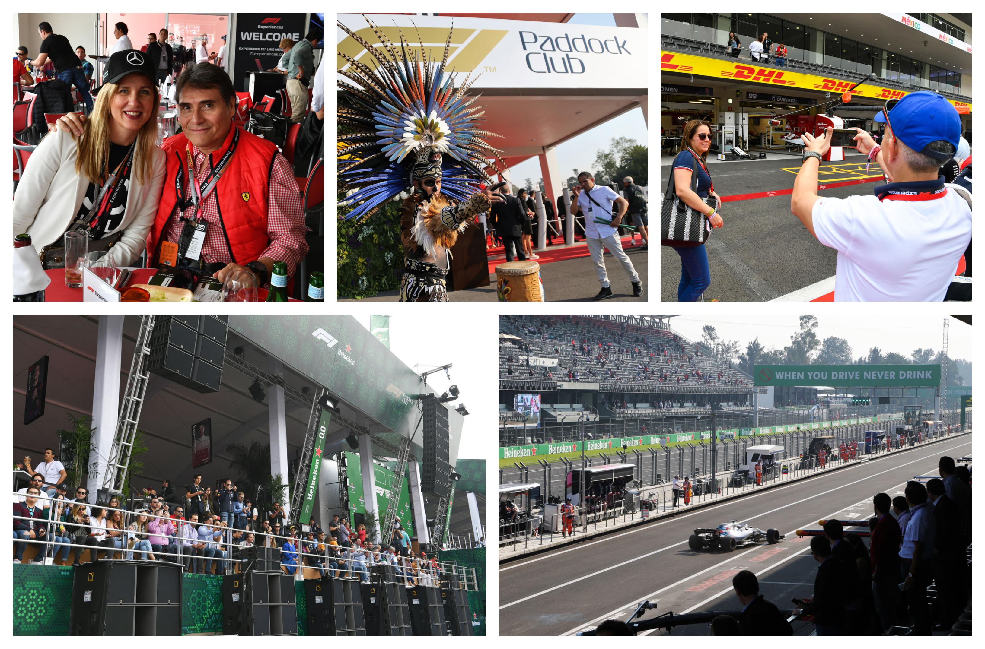 F1 Mexico 2021 – Paddock Club ™ –  F1® Experiences