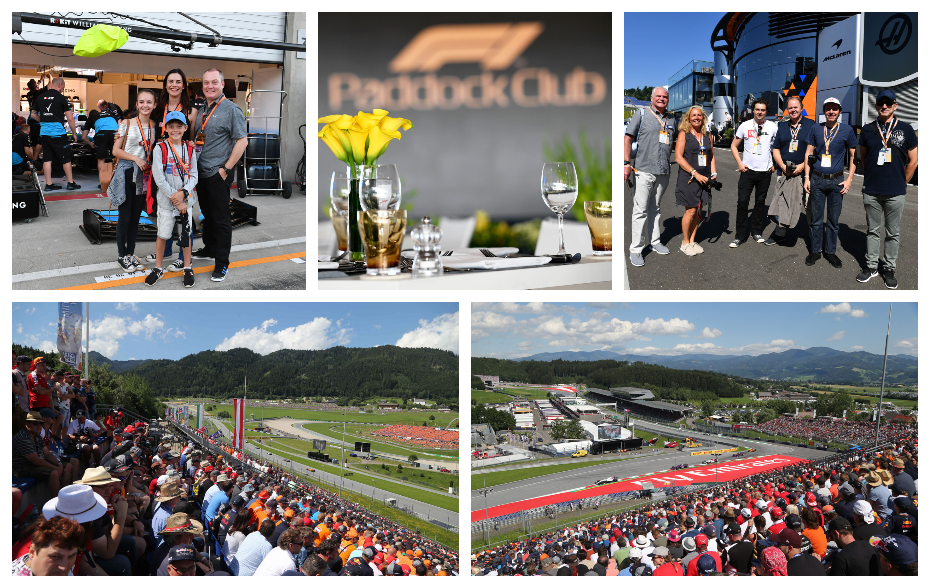 Grand Prix van Oostenrijk 2021 – Premier ticketpakket F1® Experiences