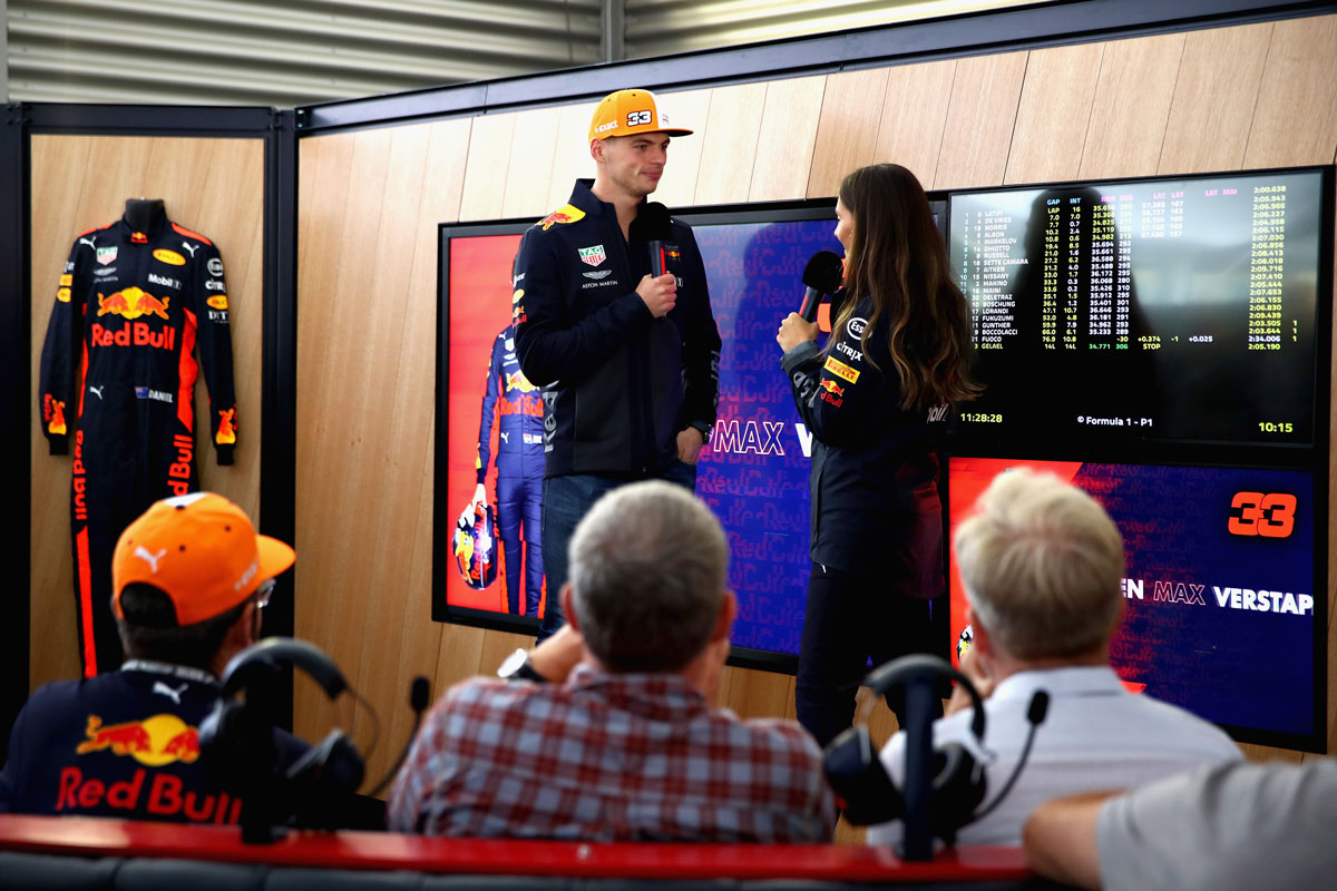 F1 Rusland 2021 – Red Bull Racing Paddock Club ™ Hospitality