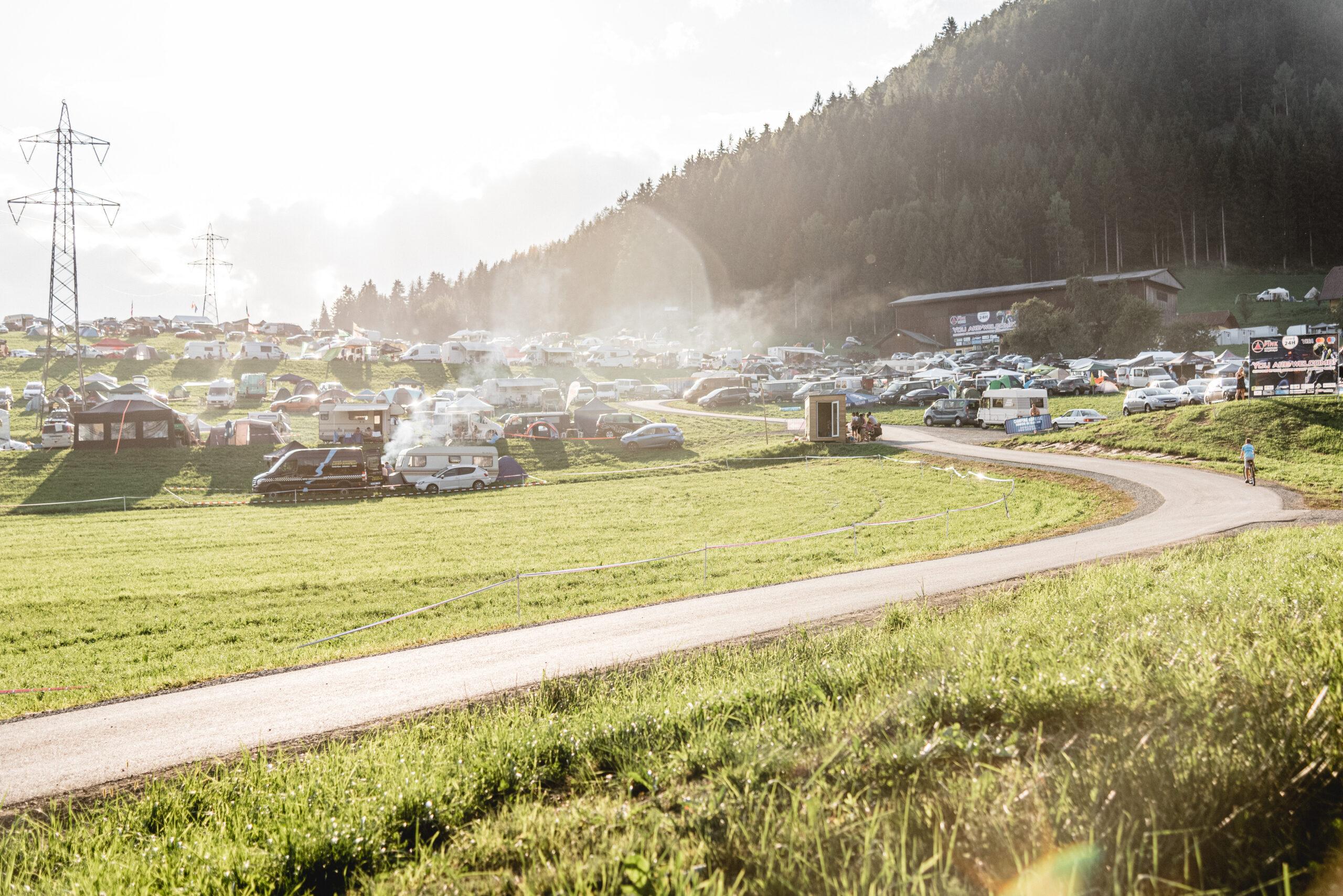 Campingplek Pink Premium – GP Oostenrijk – Formule 1 Red Bull Ring 2021