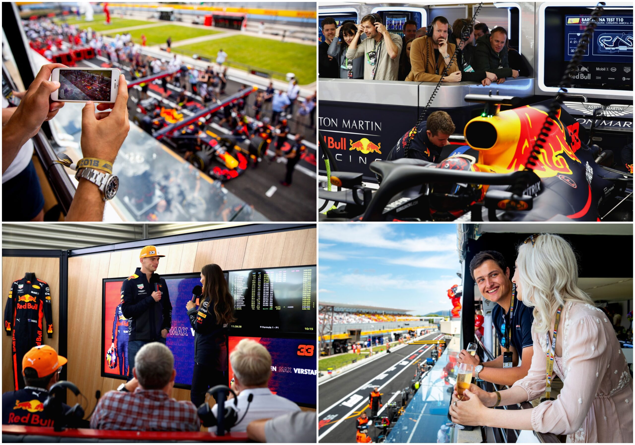 F1 Engeland 2021 – Red Bull Racing Paddock Club ™ Hospitality