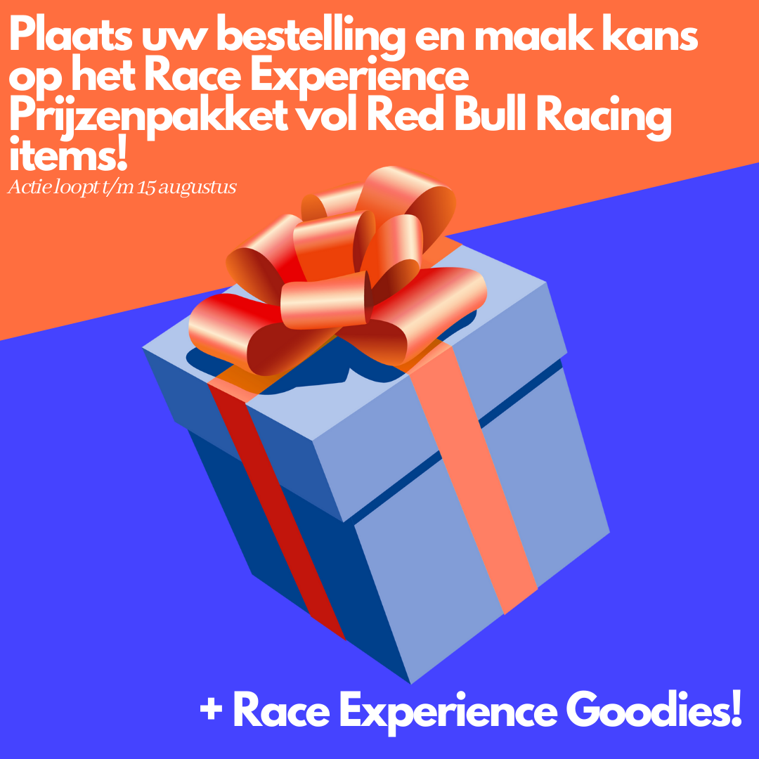 Race Experience Winactie: Plaats een bestelling bij Race Experience en maak kans op een prijzenpakket.